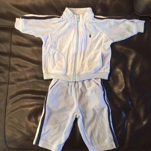 Ralph Lauren jogging suit size 6m